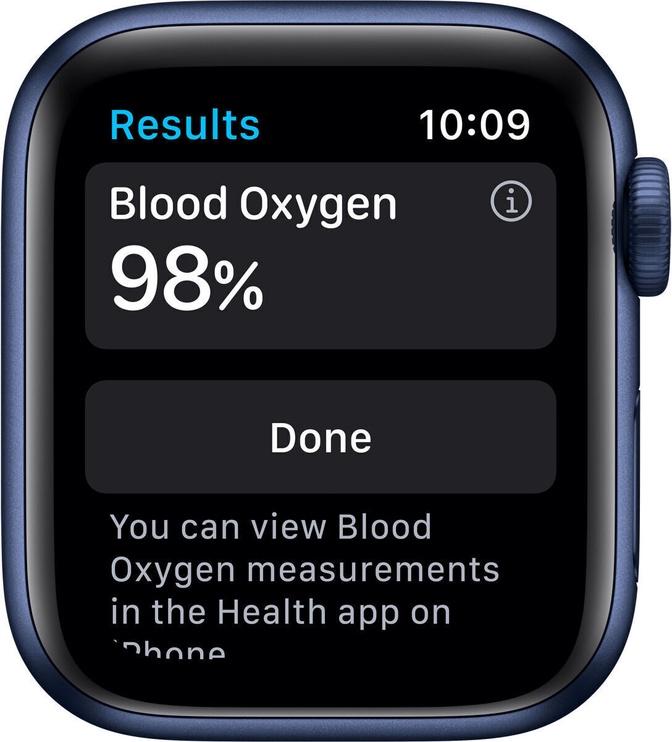 Умные часы Apple M06Q3EL/A, синий