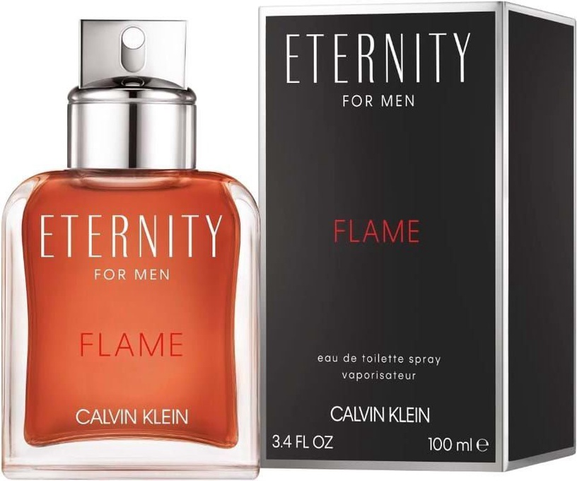 Tualetes ūdens Calvin Klein Eternity Flame, 100ml EDT