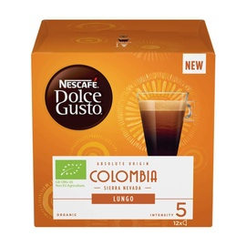 Kavos kapsulės Nescafe Dolce Gusto Lungo Colombia, 84 g., 12 vnt.