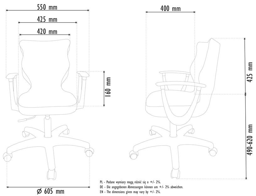 Офисный стул Entelo Norm, зеленый