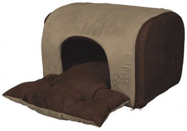 Trixie Hollis Cuddly Cave Sand/Dark Brown 43x32x36cm