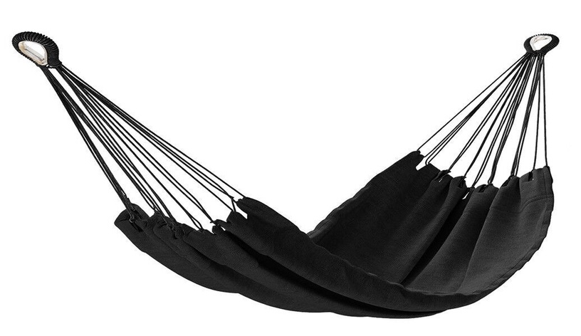 Võrkkiik AmeliaHome Colada, must, 240 cm
