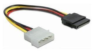 Gembird Cable Molex to SATA 0.12m