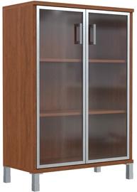 Skyland Born Shelf B 420.7 With Aluminium/Glass Doors Nut Garda