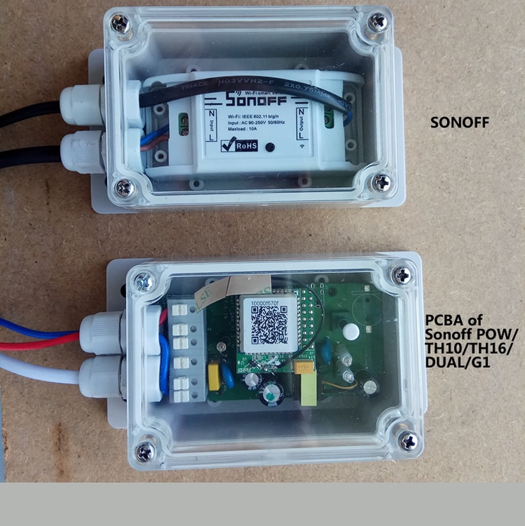 Kontrolieris Sonoff Dual R2