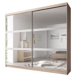 Idzczak Meble Wardrobe Multi 10 223cm Sonoma Oak
