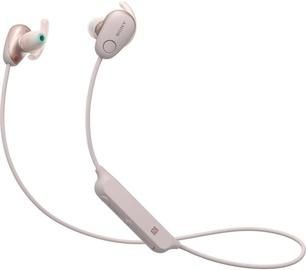 Ausinės Sony WI-SP600N Pink, belaidės