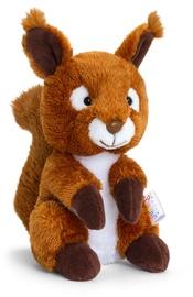 Pliušinis žaislas Keel Toys Pippins Squirrel SF2491K, rudas, 14 cm