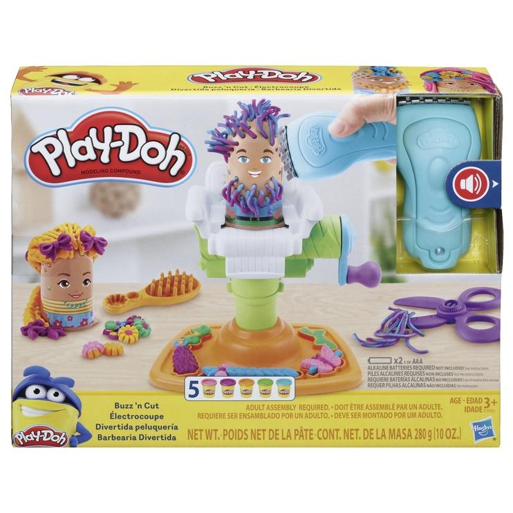 """Žaidimas modelino rinkinys """"Kirpykla"""" PlayDoh E2930"""