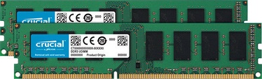 Crucial 8GB 1600MHz CL11 DDR3 KIT OF 2 CT2K51264BD160BJ
