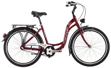 """Велосипед Kenzel, красный, 18"""", 26″"""