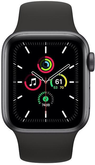 Išmanusis laikrodis Apple SE, juoda