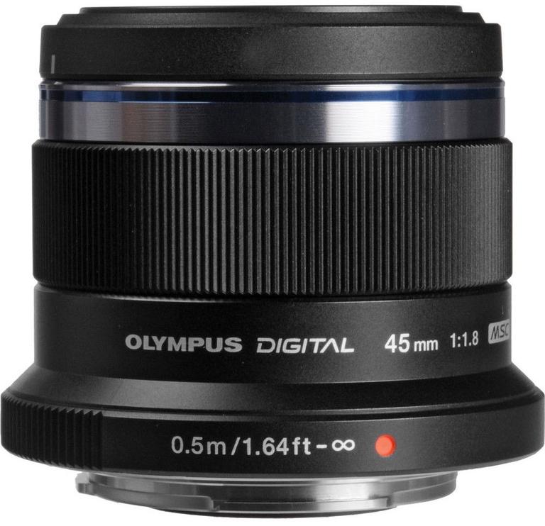 Olympus 45mm F1.8 M.Zuiko Digital Black
