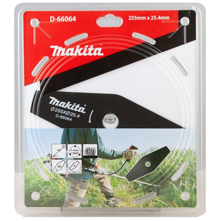 Makita Brush Cutter Blade 2-Tooth D-66064