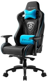 Žaidimų kėdė Sharkoon Skiller SGS4 Black/Blue