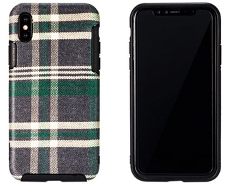 Remax Fabric Series Back Case For Apple iPhone X Green