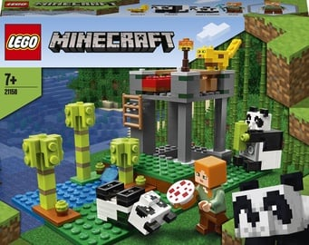Конструктор LEGO Minecraft Питомник панд 21158, 204 шт.