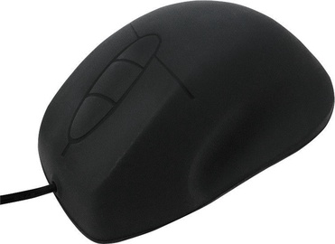 LogiLink Silicone Optical Mouse Black