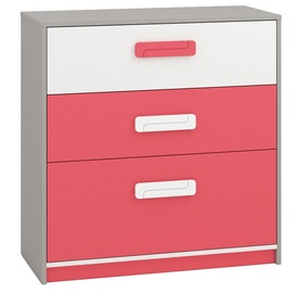 ML Meble Chest Of Drawers IQ 10 Pink
