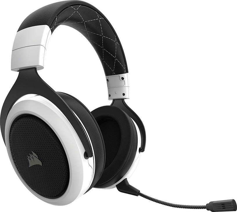 Ausinės Corsair HS70 Wireless Gaming Headset White