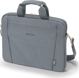 Сумка для ноутбука Dicota Slim Eco Base D31305-RPET, серый, 13-14.1″