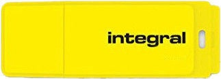 Integral Neon Yellow USB 2.0 64GB