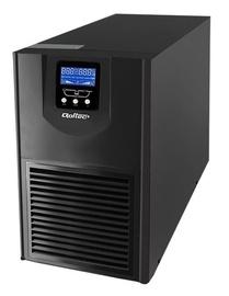 Qoltec UPS Sine Wave / 1kVA / 800W / LCD