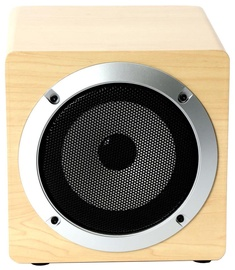 Belaidė kolonėlė Omega OG60W 5W Wooden Body Bluetooth Speaker Beige