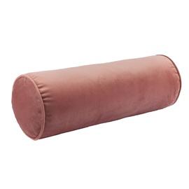 Home4you Velvet Roll Pillow D18x50cm Antique Pink