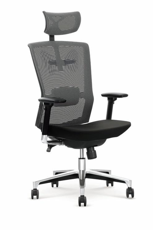 Офисный стул Halmar Ambasador, черный/серый
