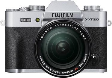 Fujifilm X-T20 XF 18-55mm f/2.8-4 R LM OIS Silver