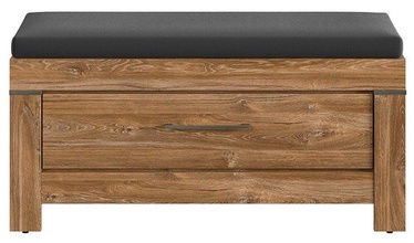 Batų spintelė Black Red White Gent Stirling Oak, 1010x400x500 mm