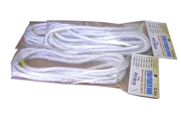 Duguva Fiberglass Rope D6mm 2.5m White