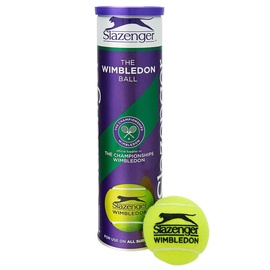 Slazenger Wimbledon Tennis Ball 4pcs