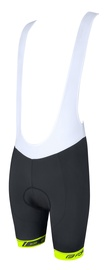 Force B38 Bib Shorts Black/White/Yellow S