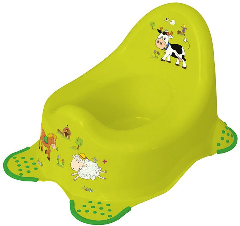 Детский горшок Keeeper Baby Steady Potty, зеленый