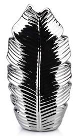 Mondex Leaf Silver Vase 28.5cm