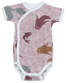 Lodger Empire Fish Short Sleeve Romper Nocture 62cm
