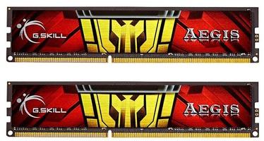 Operatīvā atmiņa (RAM) G.SKILL Aegis F3-1333C9D-8GIS DDR3 8 GB