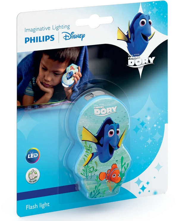 Philips Disney Finding Dory LED Flash Light 7176735P0