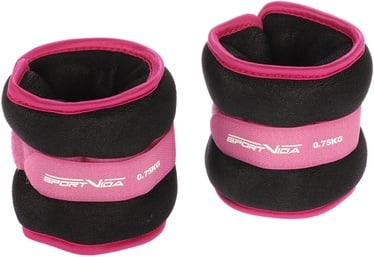 SportVida Ergo Fit Weight Set 0.75kg Dark Pink
