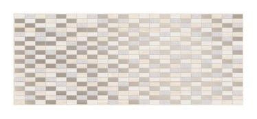 Keraminės dekoruotos plytelės Elize 1 BEIGE, 20 x 50 cm