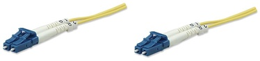 Intellinet LC-LC Fiber Optic Patch Cable OS-2 Yellow 3m