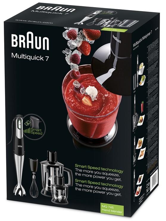 Braun Multiquick 7 MQ 745 Aperitive Black