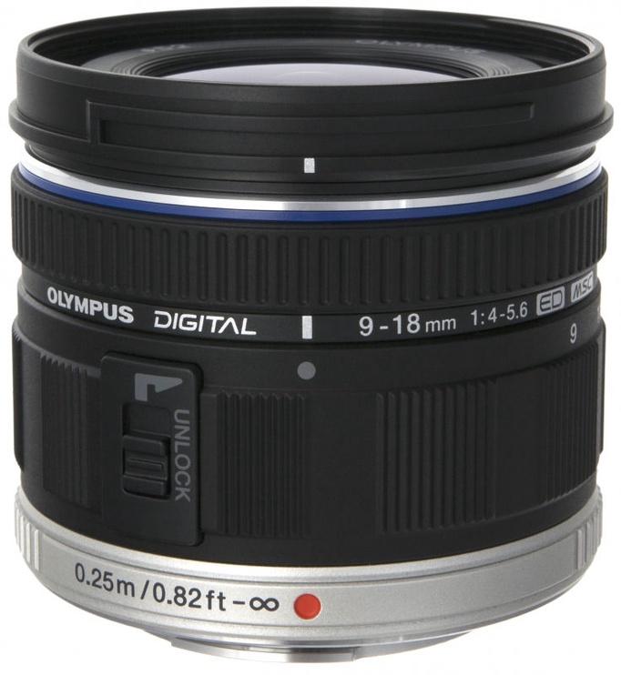 Objektyvas Olympus 9-18mm f4.0-5.6 M.Zuiko Digital ED