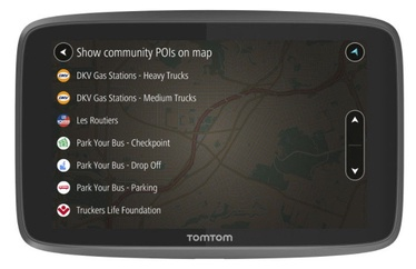 Navigeerimine TomTom Go Pro 6200