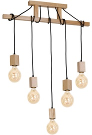 Milagro Jack MI-583 Ceiling Lamp Brown 5x40W E27