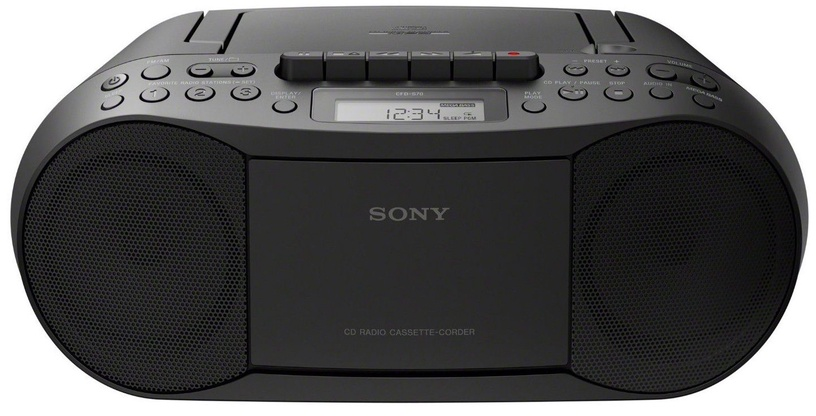 Magnetoola Sony \\tCFD-S70 Black, 3 W, must