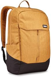 "Thule Lithos 15.6"" 20L Laptop Backpack Woodthrush/Black"