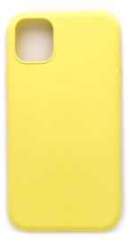 Evelatus Soft Silicone Back Case For Apple iPhone 11 Yellow